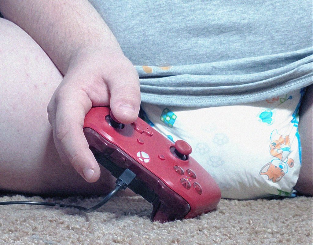 diapered gaming