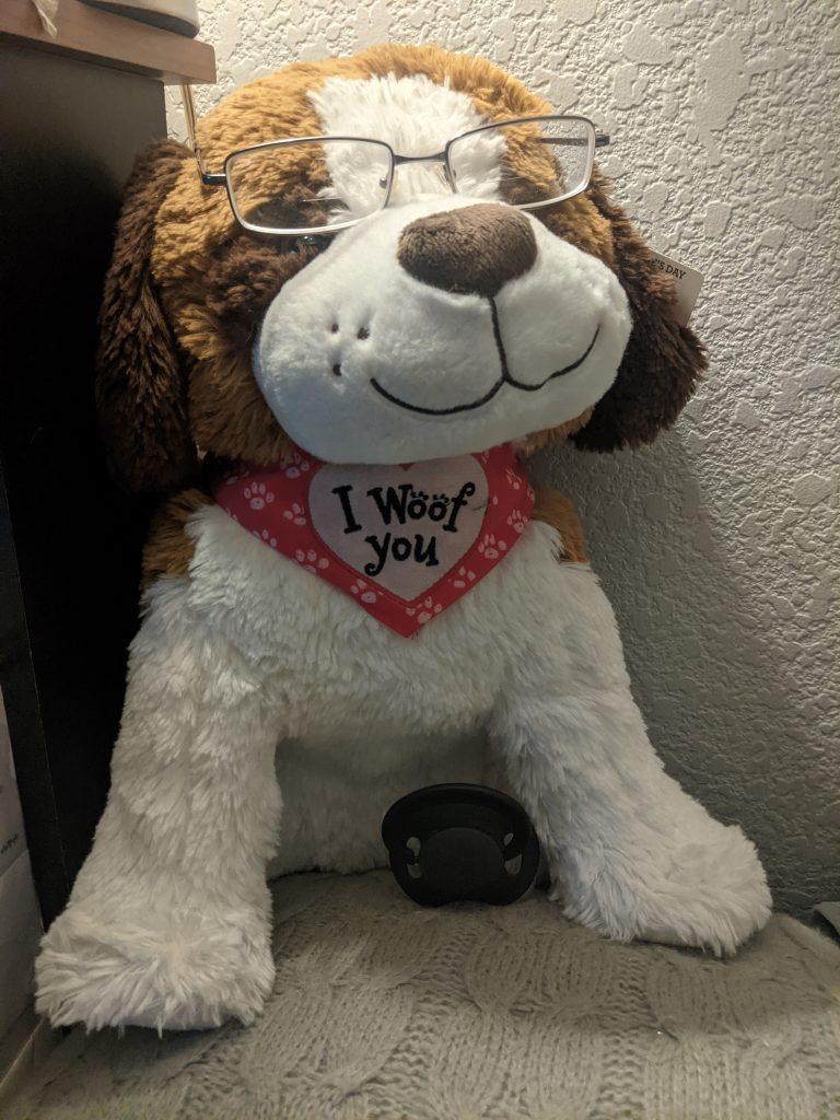 ABDL stuffed animal